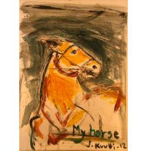 J.Anna Kutti - My horse